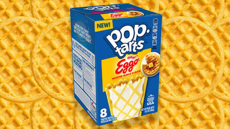 Waffle-Flavored Breakfast Pastries