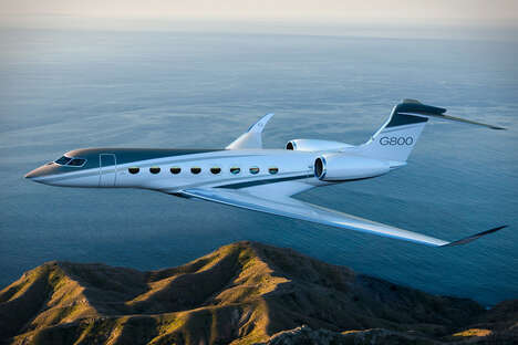 Air-Ionizing Business Jets