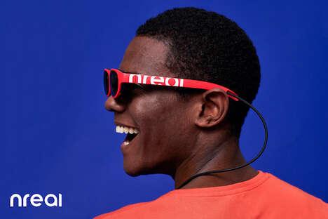 Media-Viewing Indoor Sunglasses