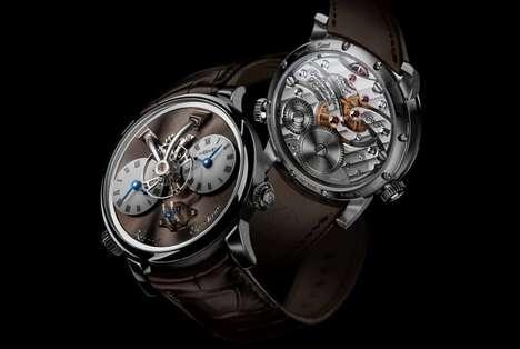 Sophisticated Transparent Timepieces