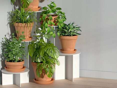 Personalization-Friendly Plant Stands