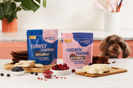 Berry-Infused Dog Treats