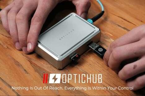 Optical Fiber USB Extenders