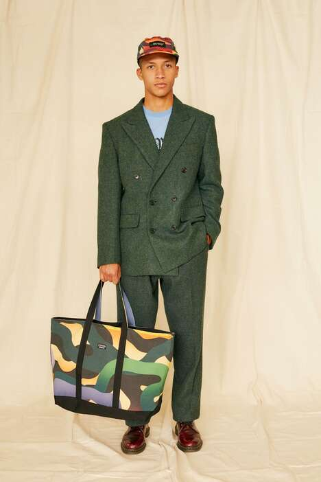 Boldly Patterned NY Streetwear