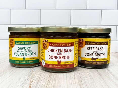 Clean-Label Soup Broths