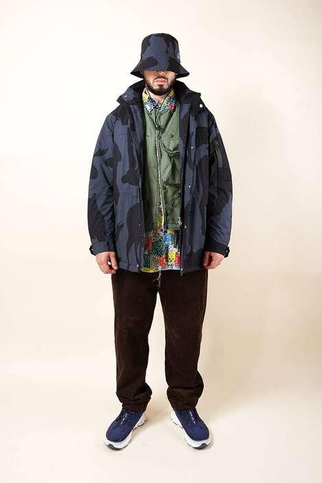 Heavily Patterned Technical Streetwear
