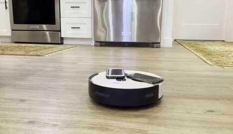 Autonomous Smartphone-Charging Robots