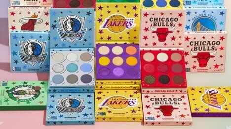 Basketball-Inspired Eyeshadow Palettes