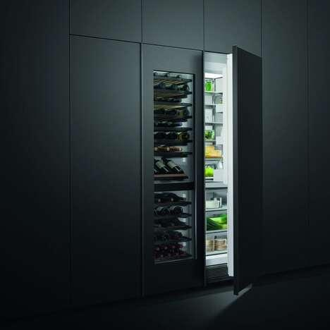 Hidden Wine Storage Units