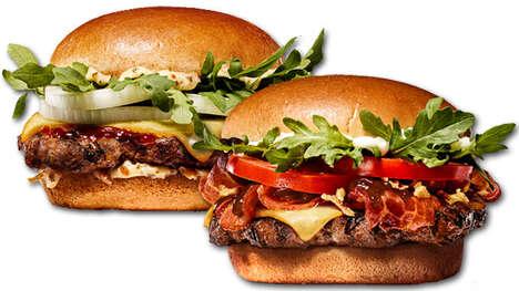 Premium Angus Beef Burgers
