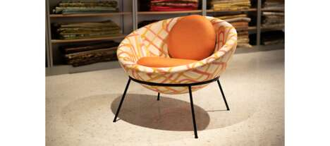 Vibrantly Colored Lounge Chairs