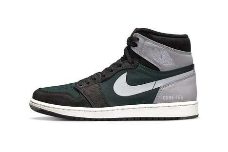 Durable Hi-Top Neutral Sneakers