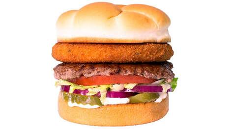 Cheese Curd Burger Patties