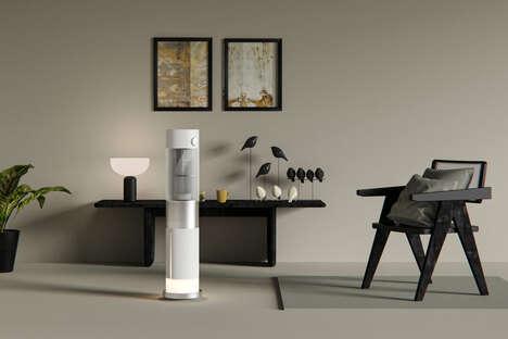 Elegant Evaporative Cooling Appliances