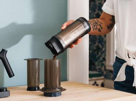 Coffee-Filtering Containers