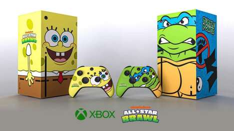 Cartoon Video Game Consoles