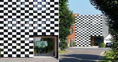 Checkered Office Buildings