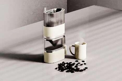 Modular Handmade Coffee Sets