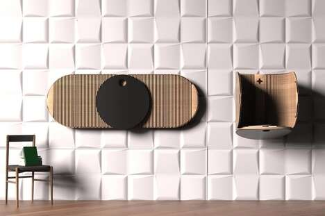 Wall-Mounted Compact Workstations