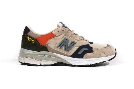 Rustic Tonal Soft Sneakers
