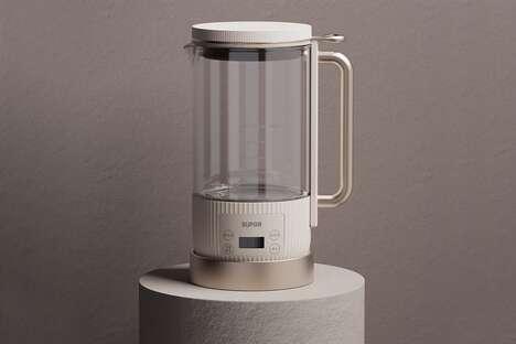 Minimal Roman-Inspired Electric Kettles