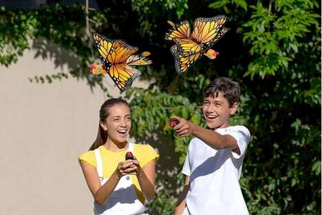 Fluttering Insect Robot Toys