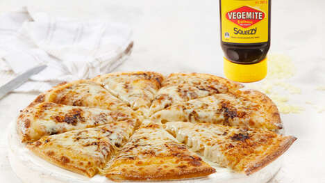 Limited-Edition Yeast Spread Pizzas