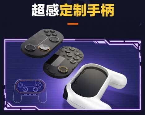 Customizable Cloud Gaming Controllers
