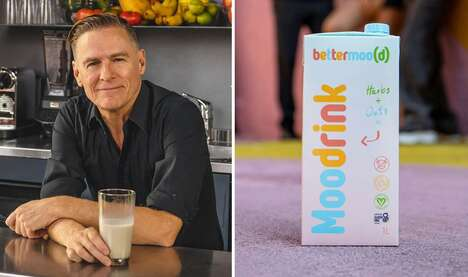 Celeb-Backed Vegan Dairy Products