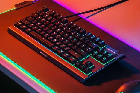 Water-Resistant Neon Keyboards