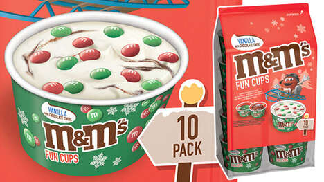 Premixed Candy-Infused Frozen Treats