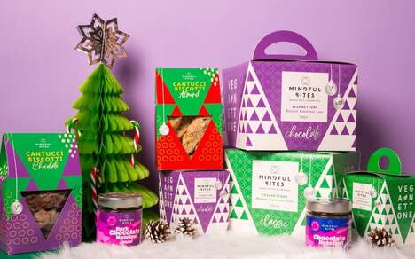Plant-Based Holiday Treat Products
