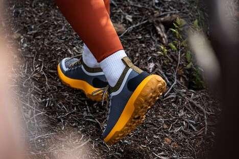 Sustainable Wool Hiking Sneakers