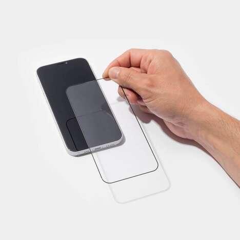 Edge-to-Edge Smartphone Screen Shields