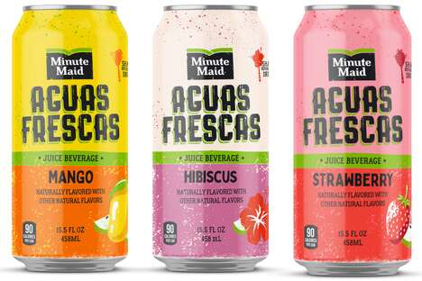 Canned Juice Beverages