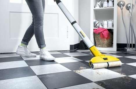 Powered Scrubbing Floor Mops