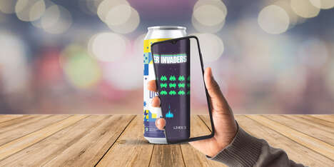 AR Gaming Beer Cans