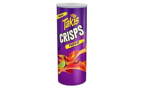 Spicy Stacked Snack Crisps