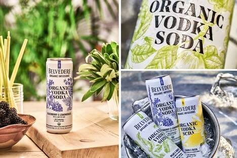 Sophisticated Canned Vodkas Sodas