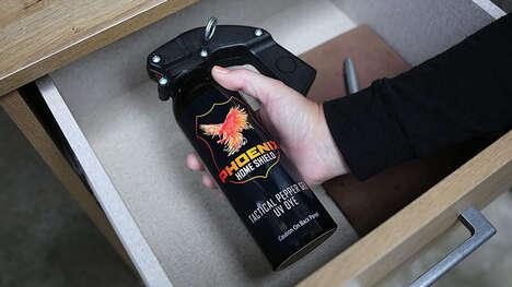 Non-Lethal Gel Pepper Sprays