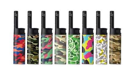 Camouflage Lighter Collections