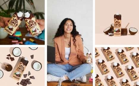 Chocolatey Coconut-Based Beverages