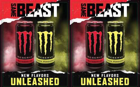 Premium Flavor Energy Drinks