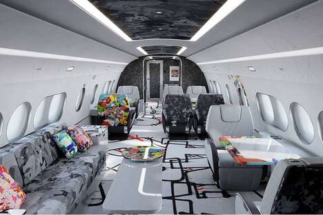 Artistically Accented Private Jets