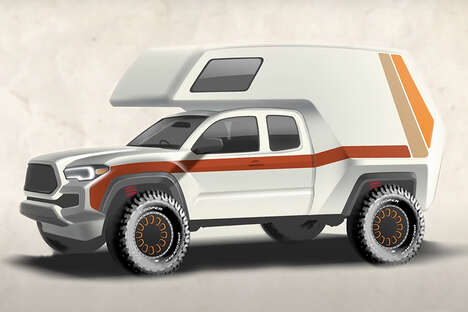 Rugged Off-Road Camper Vehicles