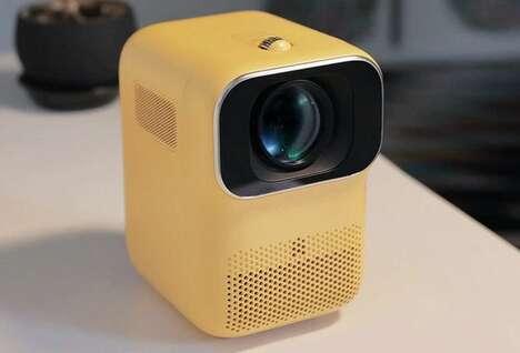 Portable Cubic Smart Projectors
