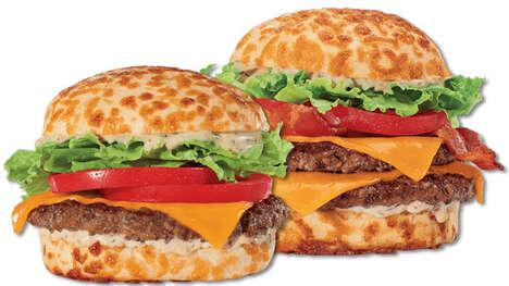 Cheddar Bun Burgers