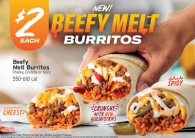 Seasoned Beef Burritos