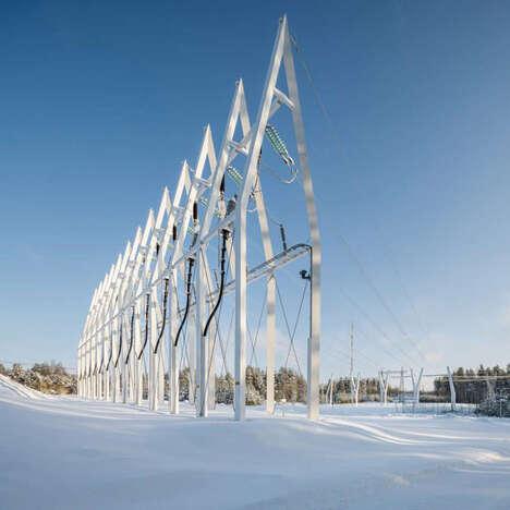 Sculptural Infrastructure Designs
