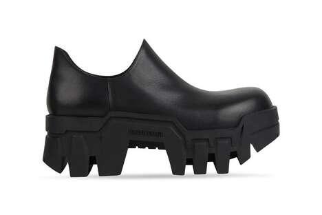 Rugged Dramatic Soled Footwear